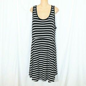 Old Navy Striped Swing Dress Size XXL